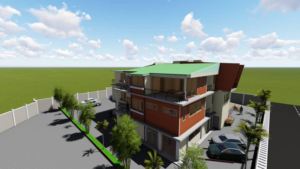 Projet de construction & de rénovation/réhabilitation – Duplex – BONABERI
